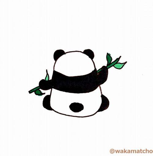 パンダ。panda