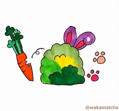 ウサギ。rabbit