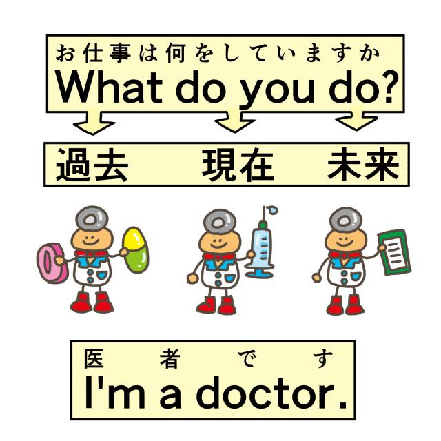 仕事は医者