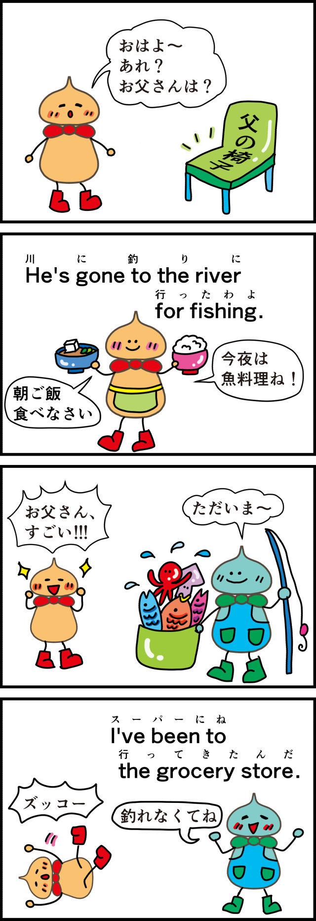 父さんの魚釣り