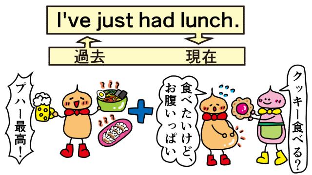 お昼食べたばかり